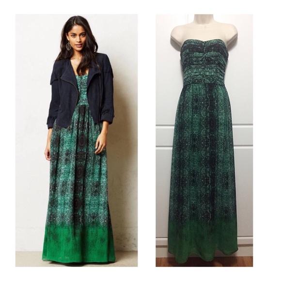 a775eb8addc2 Anthropologie Dresses & Skirts - Anthro Moulinette Soeurs Vernalis Maxi  Dress